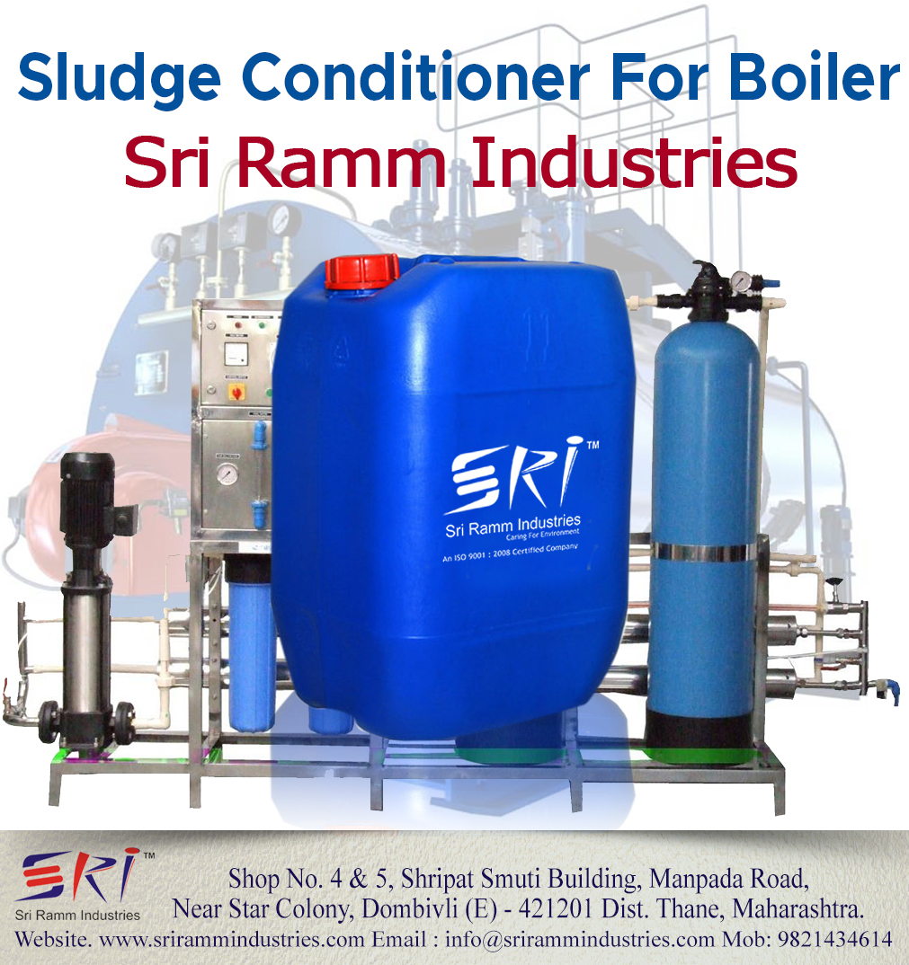 sludge conditioner for boiler