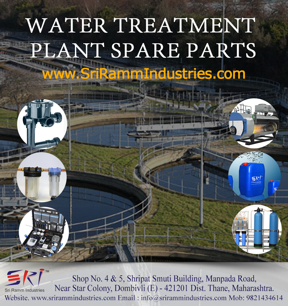 Water Treatment Plants and Spare Parts